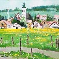 タンポポの咲く村